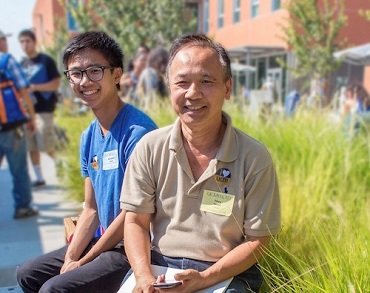 UC Merced student and parent